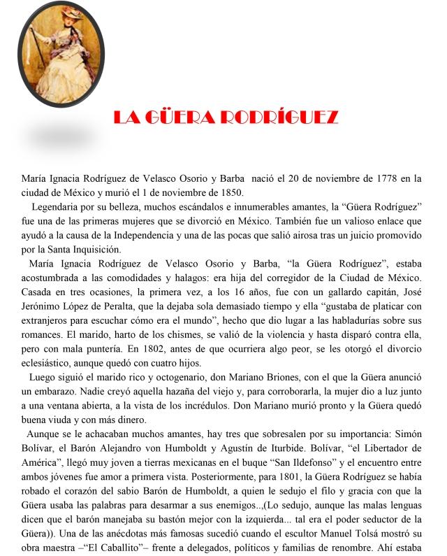 VOY CON MI HACHA LA GÜERA RODRÍGUEZ-1