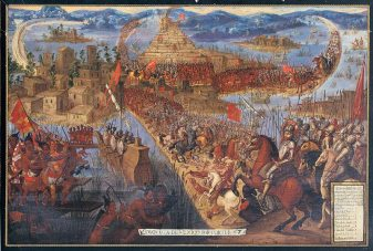 Tenochtitlan caída batlla