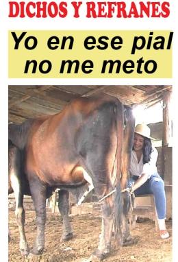 DICHOS Y REFRANES.